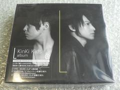 新品未開封/KinKi Kids『L album』初回限定盤【2CD+DVD】他出品