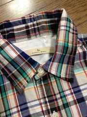 美品GLOBALWORK チェックシャツ グローバルワーク