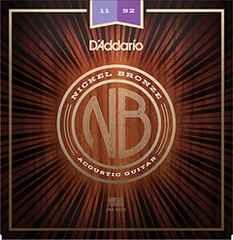 ダリオ アコースティックギター弦.011-.052 NB1152