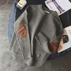 新品★4色メンズ セーター ニット プルオーバーM~5XL/AK563