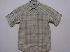 即決USA古着●鮮やかデザイン半袖シャツ!アメカジ・ビンテージ