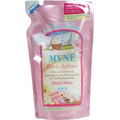 MVNE柔軟剤 フローラルシャインの香り つめかえ用 375mL