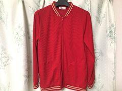 a.v.vミッシェルクラン赤色レッドジャケットパーカーブルゾン