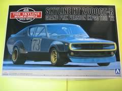 絶版 アオシマ 1/24 ザ・スカイライン-10 スカイライン HT 2000GT-R グランプリ仕様