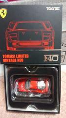 トミカ リミテッドヴィンテージネオ フェラーリF40 レッド 未使用 新品 限定品 貴重