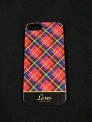 【美品】iPhone5、5S◆ハードケース◆タータンチェック