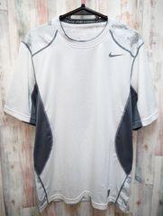 NIKE ナイキ ハイパークール フィッテド カモ 半袖Tシャツ XL/白