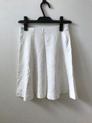 UNIQLO 可愛いオフホワイトスカート S