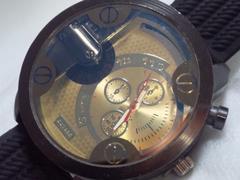 6052/TIMEDZ7256超ビックラージケースメンズ腕時計存在感抜群です