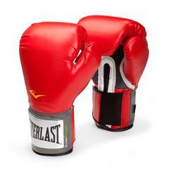 新品 送無 Everlast 練習用ボクシンググローブ14ozレッド