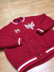 Kriminal  メルトンスタジャン  赤/RED   sizeXXXL-3XL   used美品
