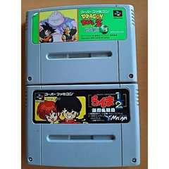 スーパーファミコン ソフト 2本セット らんま ドラゴンボール