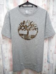 Timberland ティンバーランド 半袖Tシャツ L グレー/TB0A1GZG