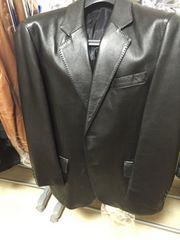 本格テーラードラム革ジャケット。
