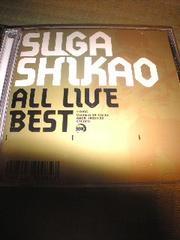 2枚組CD,スガシカオ/ALL LIVE BEST 帯無し