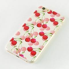 ◆新品◆iPhone5/5s/SEハードケース♪さくらんぼチェリー柄!