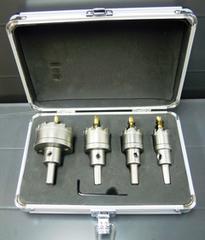 ホールソー 設備用 4個セット ハイス鋼製