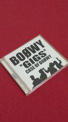 【即決】BOOWY「GIGS CASE OF BOOWY」(ライブアルバム)CD2枚組