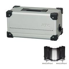 KTC 両開きメタルケース メタリックシルバー EK-10A 工具箱