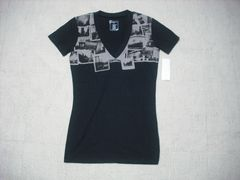 95 女 ZOO YORK ズーヨーク 黒 Tシャツ S