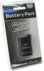 PSP1000 大容量バッテリー 3600mAh パッケージ品 電池a