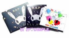 B.A.P★FEEL SO GOOD&FLY HIGH/初回盤:CD+DVD/WEB限定盤set(^^)