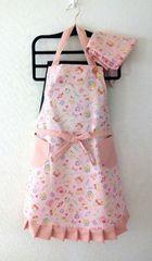 子供エプロン三角巾セットハンドメイド