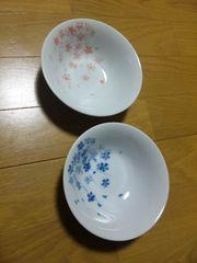 美濃焼★片岡鶴太郎デザイン『桜』ペアボウル