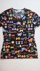 ニナ・リッチTシャツカットソー大きいサイズL柄物
