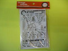 アスカモデル 1/24 Orange wheels OW-4 A-Style(スタイル) 新品 15インチ