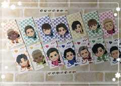 三代目・GENE・ミニキャラポチ袋14枚+ミニミニ丸シール付