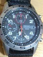 送料込み SEIKO ビンテージ 腕時計 セイコー クロノグラフ 100M