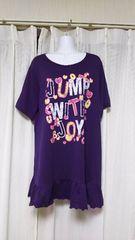 大きいサイズロングTシャツ4L