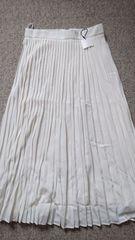 ◎新品moussyオフホワイトプリーツマキシスカート2◎