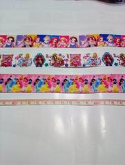 プリンセス柄リボンセット3種類各1M