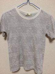 WASK 140cm ラメ ドクロ Tシャツ