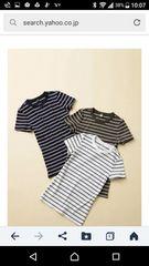 ☆UNIQLOユニクロ リブクルーネックTシャツ 二枚まとめ売り