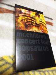 ☆Mr.Children☆Concert Tour POPSAURUS 2001 VHS♪