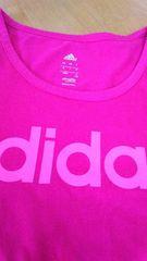adidas アディダス 150センチ 女の子 半袖 Tシャツ 美品
