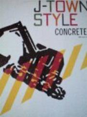 J-TOWN STYLEコンクリーツLPレコード