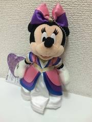 ミニーバレナイ2013新品ディズニーぬいばぬいぐるみバッジ☆13