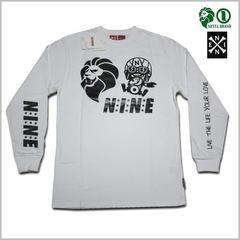 即決◆新品NESTAxNINE RULAZ長袖Tシャツ XL◆白レゲエネスタナインルーラーズロンT