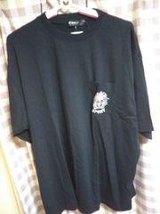 * オシャレデザイン サイズ3L Tシャツ simple is best ブラック*