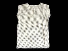 SLY スライ 白 黒 ドット柄 Tシャツ ワンピース BOXワンピ
