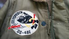 フェローズN-1デッキジャケットバズリクソンズ米軍