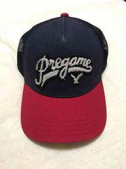 新品 アメリカンイーグル帽子 フリーサイズ ネイビー レッド
