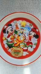 ディスニーランド クリスマスファンダジー2012 ミッキー ミニー プルート 小皿 プレート