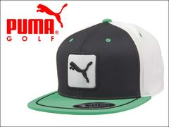PUMA キャップ 3 COLOR CAT PATCH 110 CAP グリーン