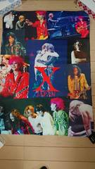 X JAPAN ポスター THE LAST LIVE〜最後の夜〜 YOSHIKI hide To