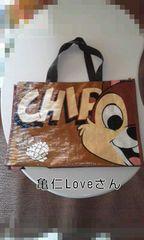 チップ&デール☆ショッピングバッグ